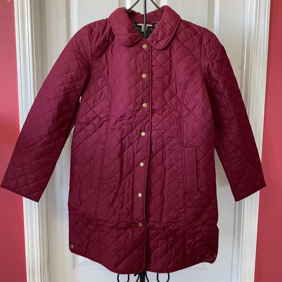 NWT Appleseed's Quilted Snap Jacket Sz L